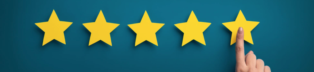 5 Stars for Good Service
